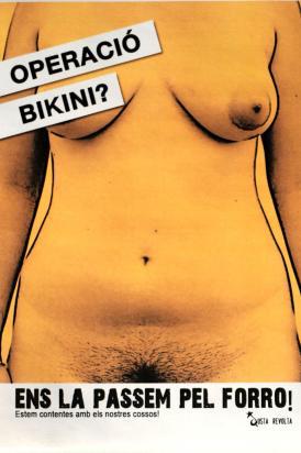 la operación bikini nos la pasamos por el forro
