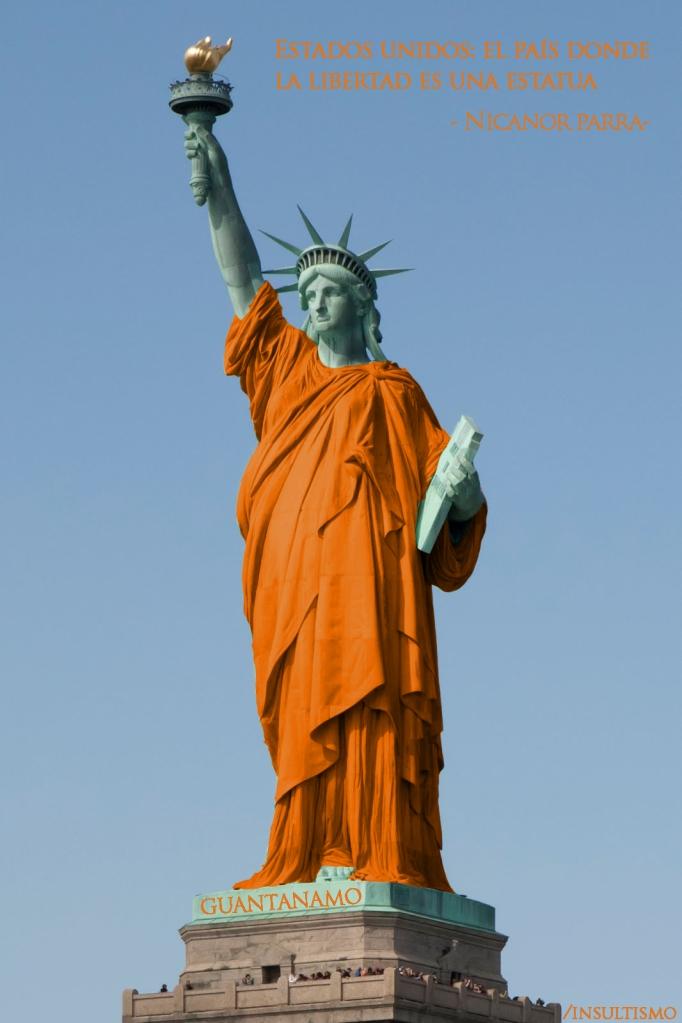 estados unidos libertad estatua nicanor parra artefactos artefacto visual antipoesia