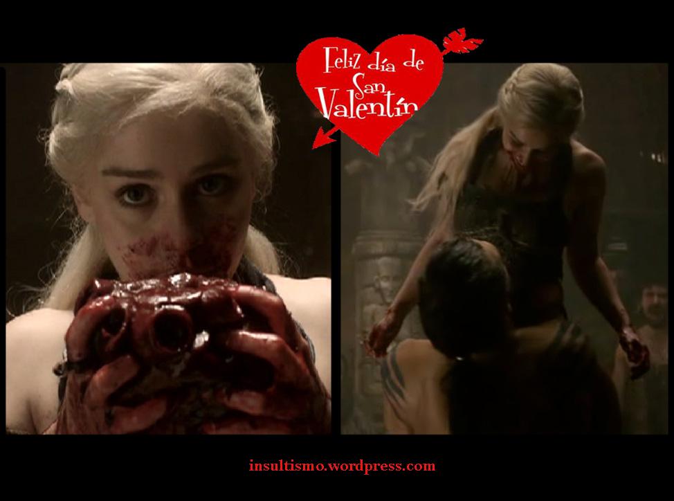 san valentin sangre insultismo