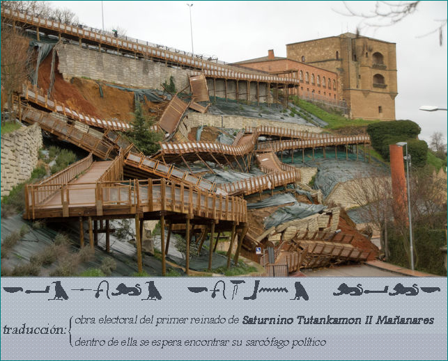 pasarela benavente saturnino tutankamon II