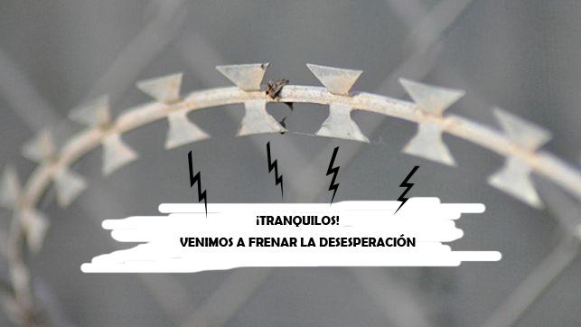 cuchillas frontera desesperación españa