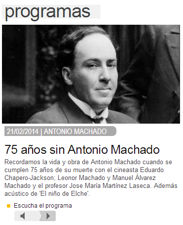 Antonio Machado Carne Cruda