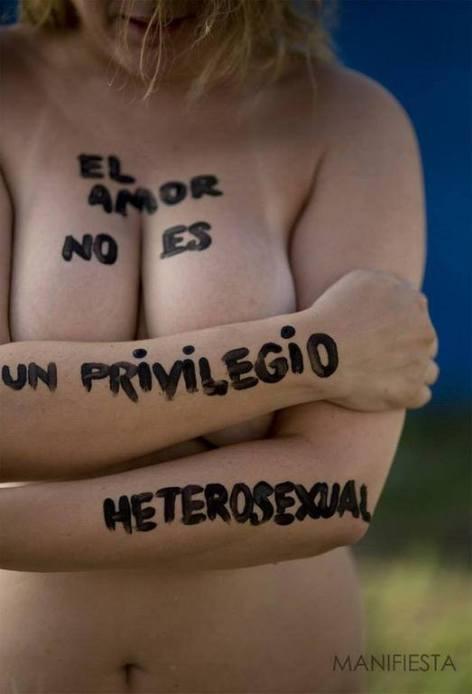 el amor no es un privilegio heterosexual