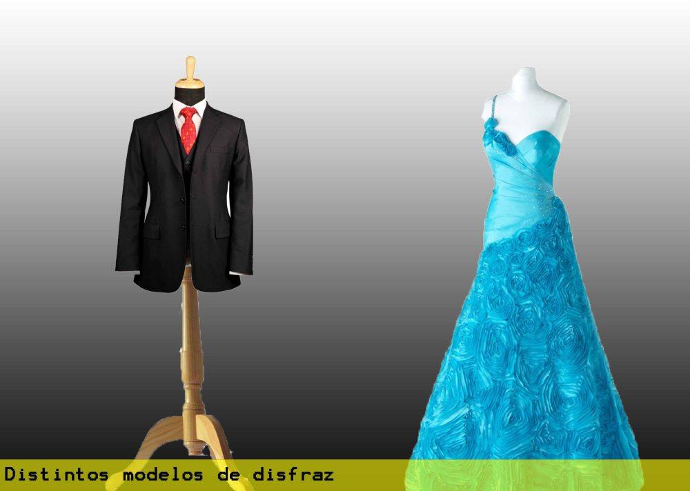 Distintos modelos de disfraz